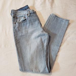 Levi's Straight Leg 501 Jeans